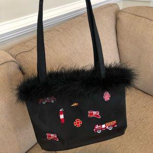 Fire Truck handbag with matching wallet
